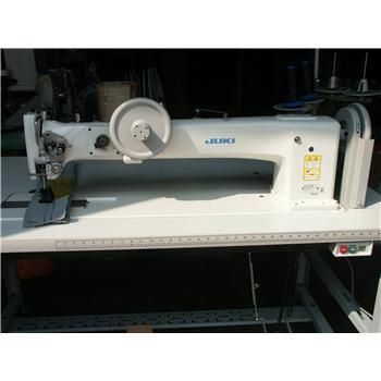 JUKI LG-158 DOUBLE NDL, UNISON FEED, LONG ARM WALKING FOOT MACHINE